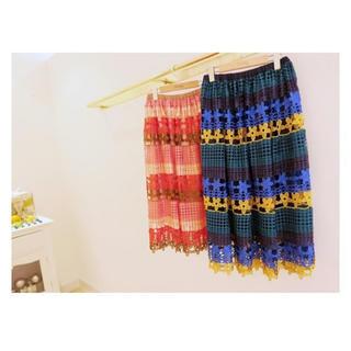 チェスティ(Chesty)のChesty Flower Lace Skirt(ロングスカート)
