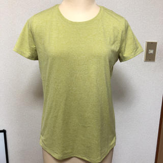 ムジルシリョウヒン(MUJI (無印良品))の無印イエローグリーンTシャツ(Tシャツ(半袖/袖なし))