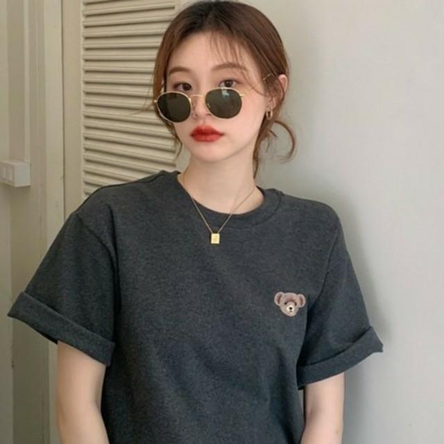 dholic(ディーホリック)のbearTシャツ レディースのトップス(Tシャツ(半袖/袖なし))の商品写真
