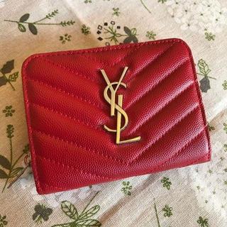 PIAGET - 【美品】イブ◑サンローラン サンローラン YSL 二つ折り財布