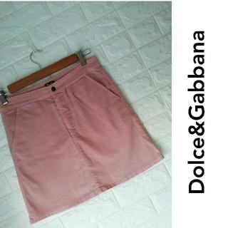 ドルチェアンドガッバーナ(DOLCE&GABBANA)のM105Dolce&Gabbana - ドルチェ&ガッバーナ ピンク スカート(ひざ丈スカート)