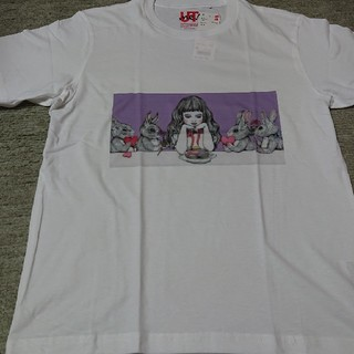 UNIQLO - UT ティシャツ Tシャツ ウサギ うさぎ 女の子 新品未使用 M