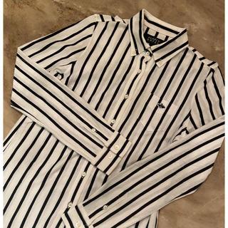 PEARLY GATES - PG ボタンダウンストライプシャツ