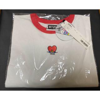 防弾少年団(BTS) - Heather BTS  BT21 コラボ Tシャツ
