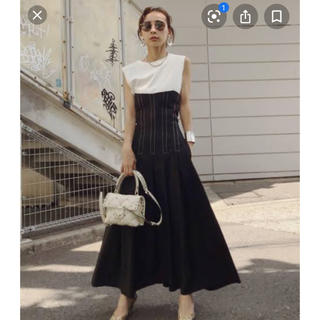 Ameri VINTAGE - 新品Ameri vintage STITCH TUCK DRESS ワンピースM