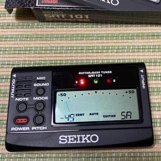 セイコー(SEIKO)のギター&ベースチューナー SEIKO SAT101(その他)