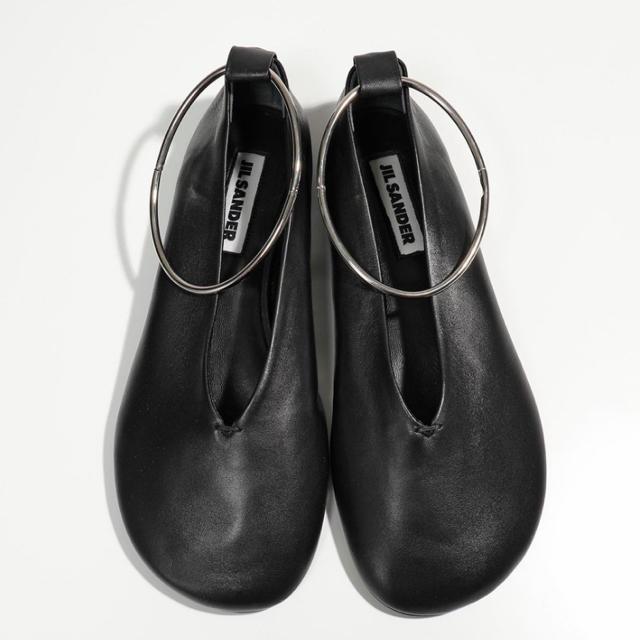 Jil Sander(ジルサンダー)のジルサンダー アンクルリング フラットシューズ バレエ レディース レディースの靴/シューズ(バレエシューズ)の商品写真