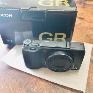 リコー(RICOH)の【即購入OK】GR Ⅱ (リコーGR2) 新品、未使用(デジタル一眼)