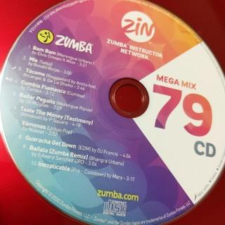 ズンバ(Zumba)のズンバCDMEGAMIX79(スポーツ/フィットネス)