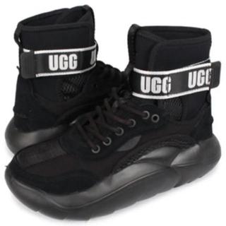 アグ(UGG)の新品UGG LA CLOUD HIアグ スニーカー24,5レディース厚底ブラック(スニーカー)