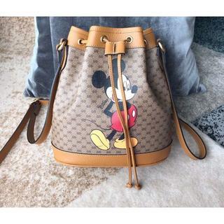 Disney - ミッキー サッチェル 巾着バケットバッグ  Disney