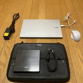 エヌイーシー(NEC)のNECノートパソコン(ノートPC)