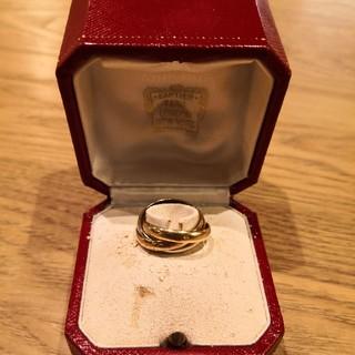 Cartier - カルティエ トリニティリング K18 750 3連リング #53