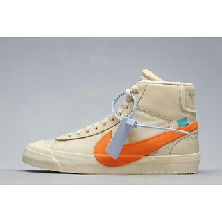 ナイキ(NIKE)の新品  THE 10 NIKE BLAZER MID OFF WHITE(スニーカー)