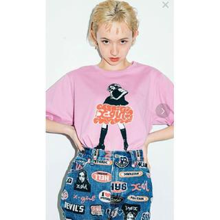 エックスガール(X-girl)のx-girl  HYSTERIC GLAMOURコラボTシャツ Mサイズ(Tシャツ(半袖/袖なし))