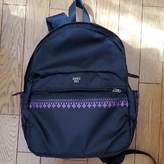 ANNA SUI - 本日限定!!ANNA SUI リュック黒×紫 美品
