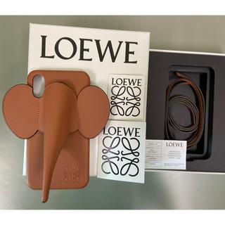ロエベ(LOEWE)のロエベ Loewe エレファント タン iPhone X/XS アイフォンカバー(iPhoneケース)