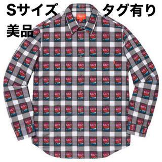 シュプリーム(Supreme)の美品 Supreme Rose Buffalo Plaid Shirt Sサイズ(シャツ)