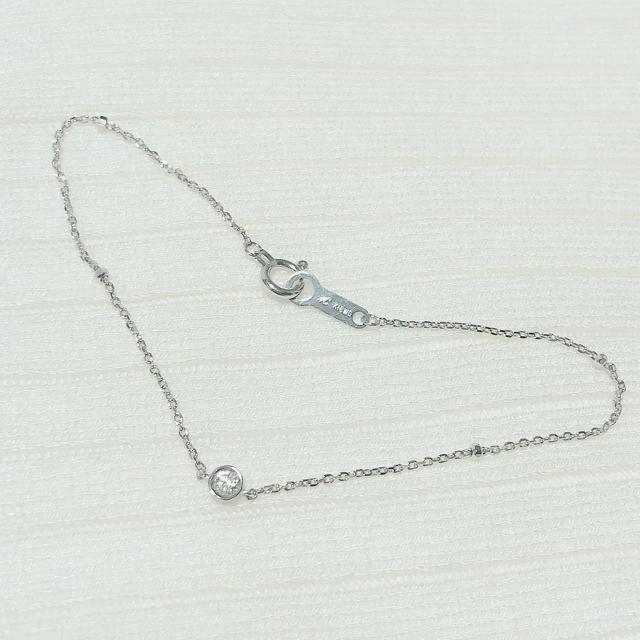 4℃(ヨンドシー)の𓊆美品𓊇4℃✩.*˚K18 ダイヤ ブレスレット レディースのアクセサリー(ブレスレット/バングル)の商品写真