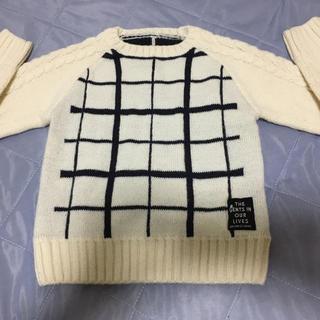 プティマイン(petit main)のアプレレクール  セーター 100(ニット)