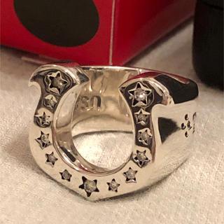 テンダーロイン(TENDERLOIN)の10号 初期 テンダーロイン ホースシューリング ダイヤ入り(リング(指輪))