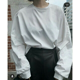ENFOLD - 【新品未使用】RIM.ARK Dolman long cut tops