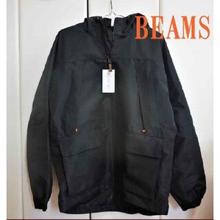 ビームス(BEAMS)の新品タグ付★BEAMS DESIGN マウンテンジャケット S ブラック(マウンテンパーカー)