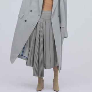 ルシェルブルー(LE CIEL BLEU)のIRENE プリーツスカート(ロングスカート)