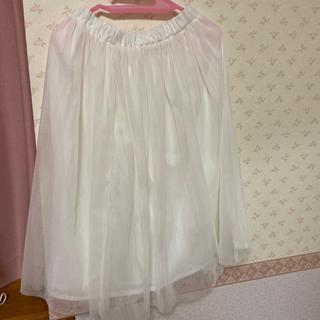 ドットアンドストライプスチャイルドウーマン(Dot&Stripes CHILDWOMAN)のdot&stripes CHILDWOMAN チュールスカート (ひざ丈スカート)