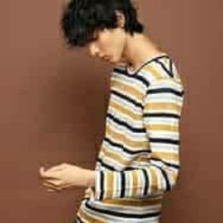 ミッシェルクラン(MICHEL KLEIN)の☆新品 【MICHEL KLEIN】長袖シャツ  カットソー メンズ(Tシャツ/カットソー(七分/長袖))