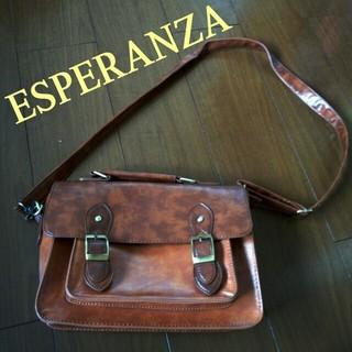 エスペランサ(ESPERANZA)の新品★ベルト付き2wayバック(ショルダーバッグ)
