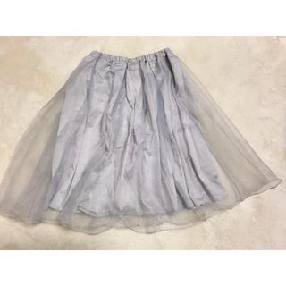 ノエラ(Noela)のnoela オーガンジースカート(ひざ丈スカート)