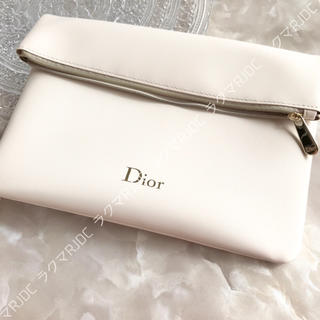 クリスチャンディオール(Christian Dior)の【新品箱なし】ディオール スリムポーチ クラッチバッグ 折りたたみ 非売品(ポーチ)