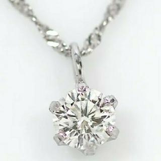 AMO'S STYLE - 天然ダイヤモンドネックレス・一粒ダイヤモンド