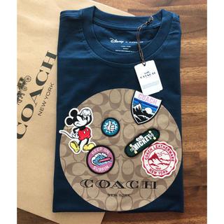 COACH - 【DISNEY X COACH☆日本限定】新作!完売品! Tシャツ XSサイズ