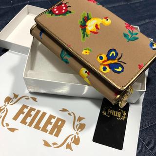 フェイラー(FEILER)の新品 フェイラー ハイジの折財布(折り財布)