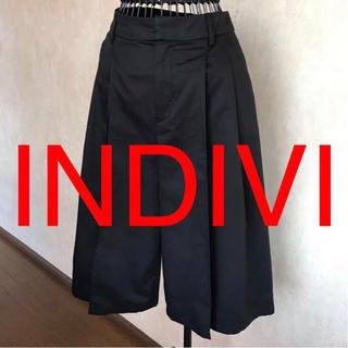 インディヴィ(INDIVI)の★INDIVI/インディヴィ★ワイドパンツ.ガウチョパンツ38(M.9号)(その他)