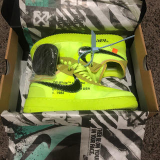 オフホワイト(OFF-WHITE)のOff-White × NIKE Air Force1 Volt(スニーカー)