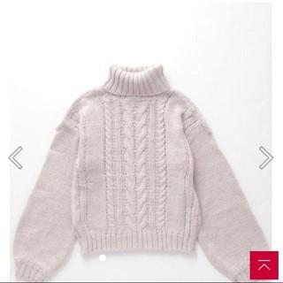 セシルマクビー(CECIL McBEE)の新品未使用タグつき CECIL McBEE ニットセーター 肩あき(ニット/セーター)