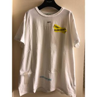 オフホワイト(OFF-WHITE)の新品OFF-WHITE オフホワイト Tシャツ トップス(Tシャツ/カットソー(半袖/袖なし))