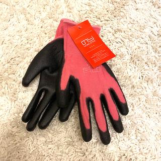 ガーデニング 手袋 M  ピンク(その他)