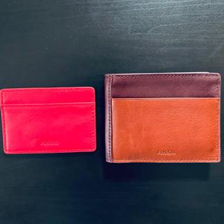 フォッシル(FOSSIL)の【大特価】FOSSIL フォッシル 二つ折り財布(折り財布)