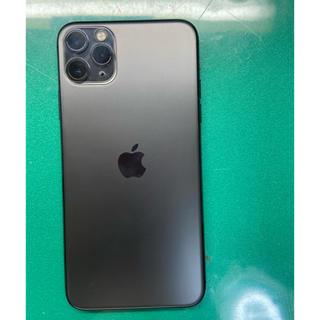 アイフォーン(iPhone)の美品 iPhone 11 Pro Max スペースグレイ64Gb Simフリー(スマートフォン本体)