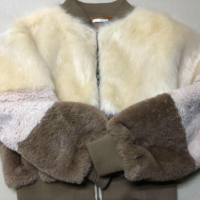 RESEXXY(リゼクシー)のファーブルゾン レディースのジャケット/アウター(ブルゾン)の商品写真