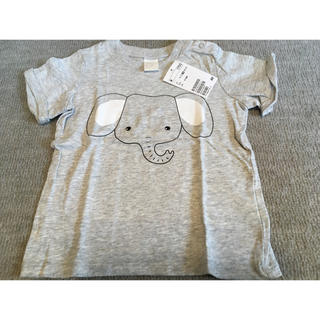エイチアンドエム(H&M)のティシャツ 象 80(Tシャツ)
