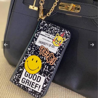 DEUXIEME CLASSE - GOOD GRIEF!SMILE patched iphone cover