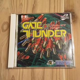 エヌイーシー(NEC)のPCエンジン ゲートオブサンダー GATE OF THUNDER 中古(家庭用ゲームソフト)
