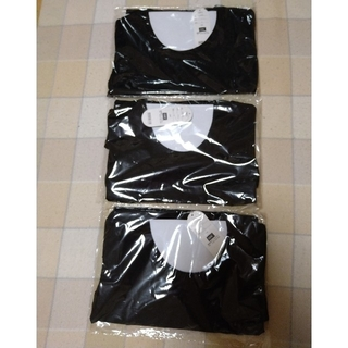 ディーエイチシー(DHC)の【新品未開封品】DHC 形がきれいなTシャツ3枚セット(Tシャツ(半袖/袖なし))
