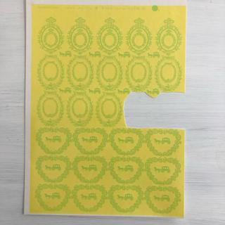 オールドレイフレーム ガラス用転写紙(各種パーツ)