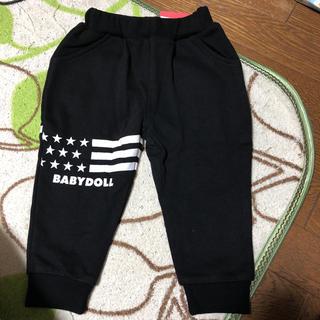 BABYDOLL - 新品タグ付き ベビードール ズボン スウェット 黒 90センチ